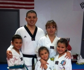 Master Jared and Family
